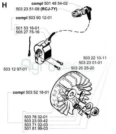 Agroparts Gr Chainsaw Tanaka Ecv 5501